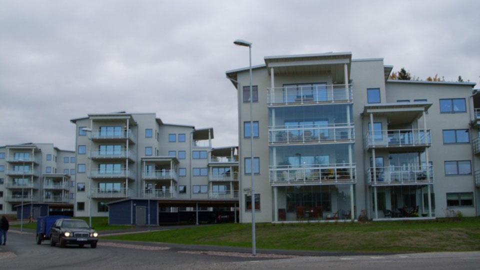 4 budynki mieszkalne – Szwecja / 4 blocks of flats – Sweden
