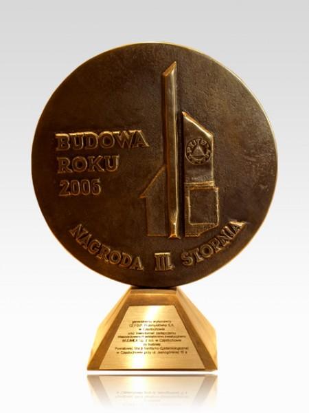 Nagroda II stopnia - Budowa Roku 2006