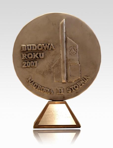 Nagroda II stopnia - Budowa Roku 2007