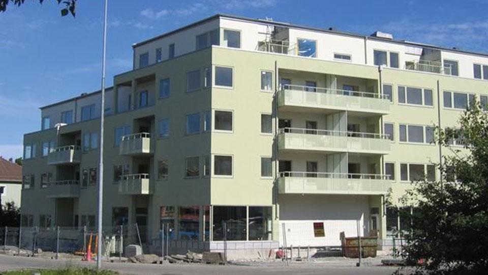 Budynek mieszkalny – Szwecja / Block of flats – Sweden 1