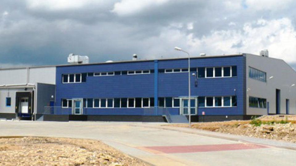Hala Nestle – Rozlewnia Wód Mineralnych w Rzeniszowie