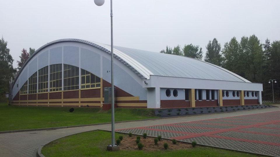 Hala sportowa w Kamienicy Polskiej