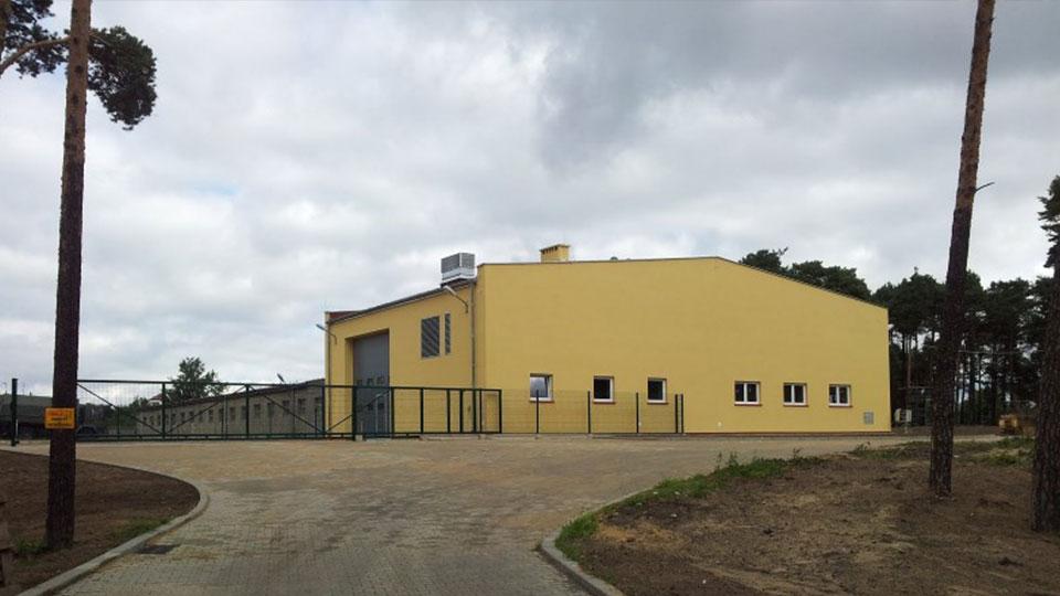 Modernizacja stacji diagnostycznej na terenie JW w Lublińcu
