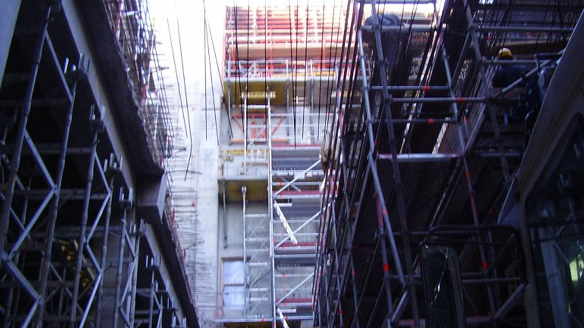 Prace żelbetowe elektrownia Szwecja – Reinforce concrete works at elektrician plant Sweden