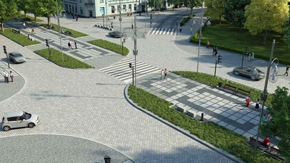 Przebudowa Placu Biegańskiego oraz I i II Alei NMP w Cęstochowie