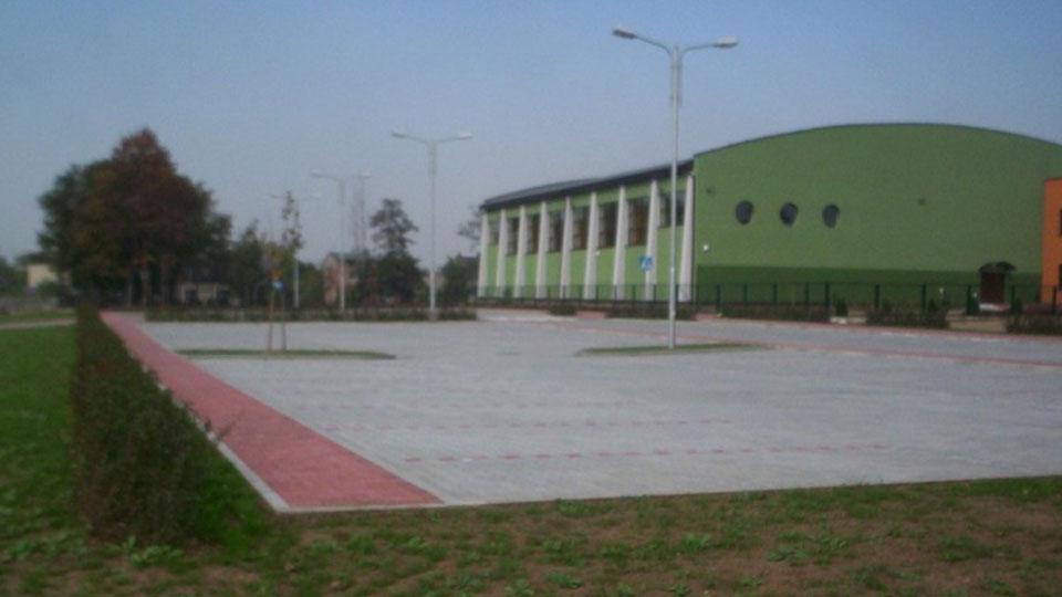Sala gimnastyczna w Siewierzu