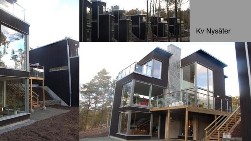 Domki jednorodzinne – Szwecja / Semidetached houses – Sweden